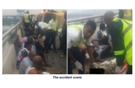 Narrow Escape: Crash Barriers Saved 24 Passengers From Falling Into Lagos Lagoon