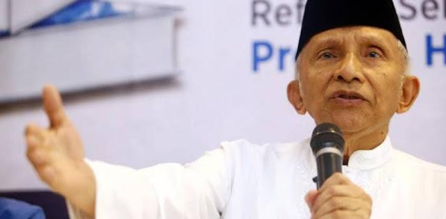 TKN: Amien Rais Mengigau Sebut Jokowi Otoriter, Kekanak-kanakan!