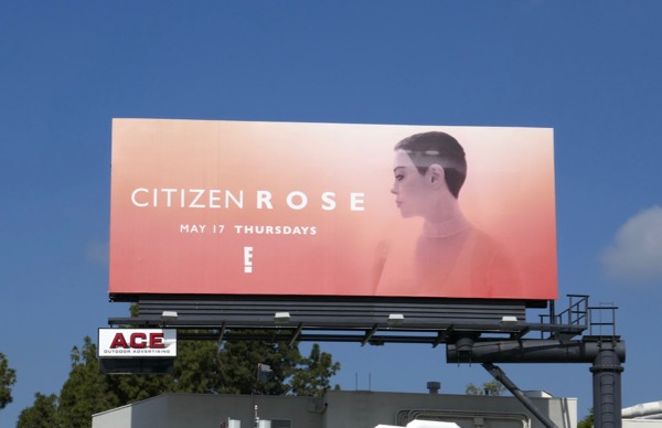 Citizen Rose series premiere billboard