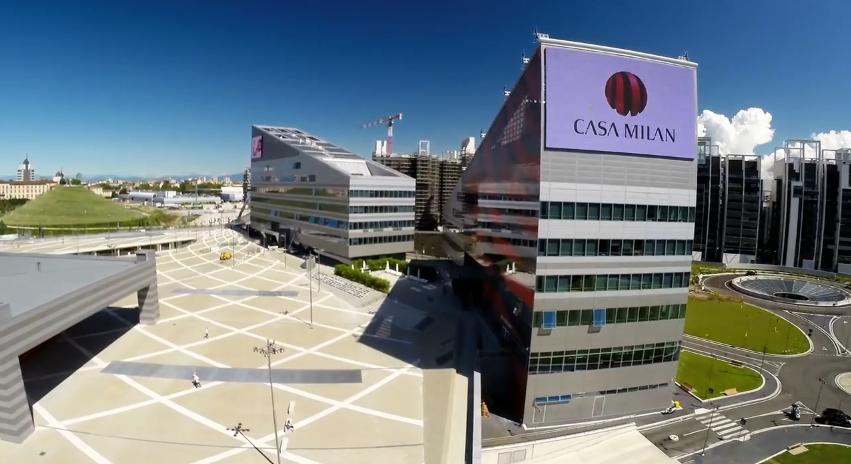 Casa Milan e lo stadio di San Siro visti dal Drone  Quadricottero News