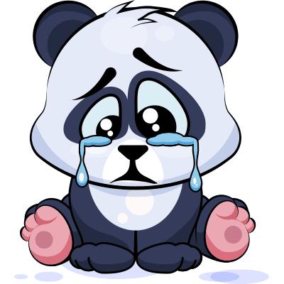 Crying Panda