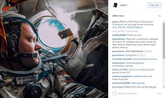 Top brands that are killing it on Instagram