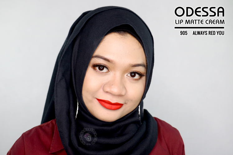 Odessa Lip Matte Cream 905 Always RED You