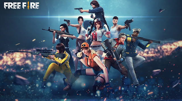 Free Fire Battlegrounds Personajes