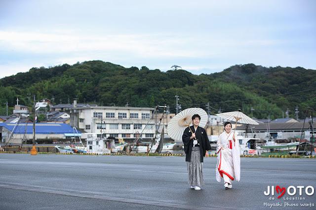 愛知県蒲郡市での地元ロケーション撮影