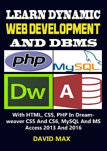 learn dynamic web development and DBMS ebook