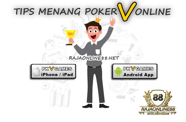 Tips Jitu Menang Poker V Online Uang Asli Terpercaya