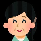 おばさんの顔アイコン 12