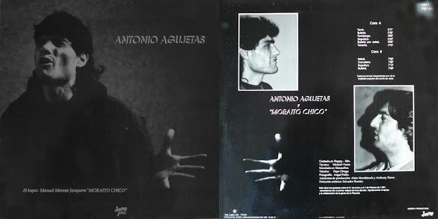 Antonio Agujetas y Moraito segundo LP salido al mercado cuando aún estaba preso en 1991