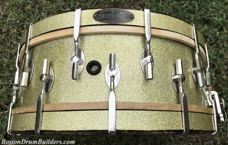 Geo. B. Stone & Son Master-Model Snare Drum