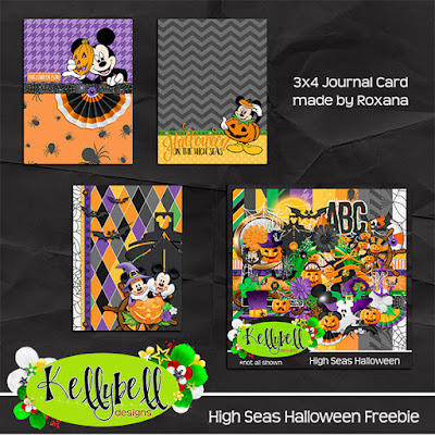 High Seas Halloween by Kellybell Designs