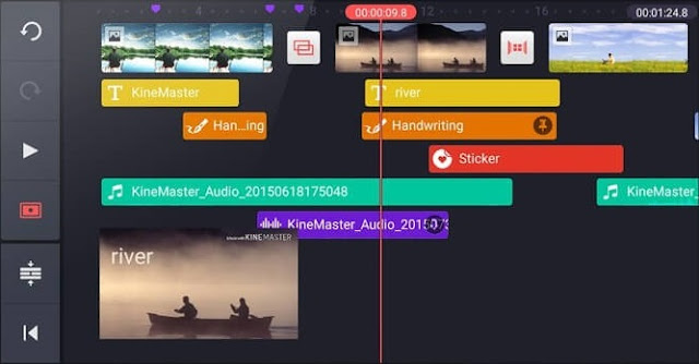 أفضل 10 تطبيقات لتعديل الفيديو على الجوال - KineMaster