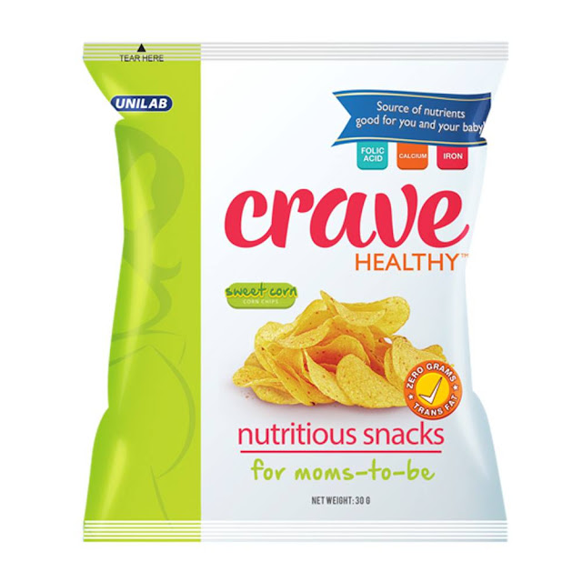 CRAVE HEALTHY; The Healthy Cheat Snack for Pregnant Women