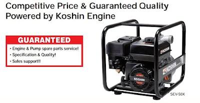 Tân Việt phân phối máy bơm dầu Koshin