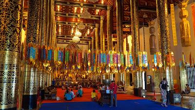 Inside Wat Ho Tham