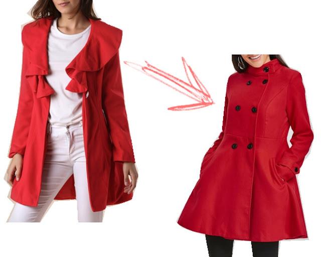 gamiss, płaszcz, czerwony, wishlist,