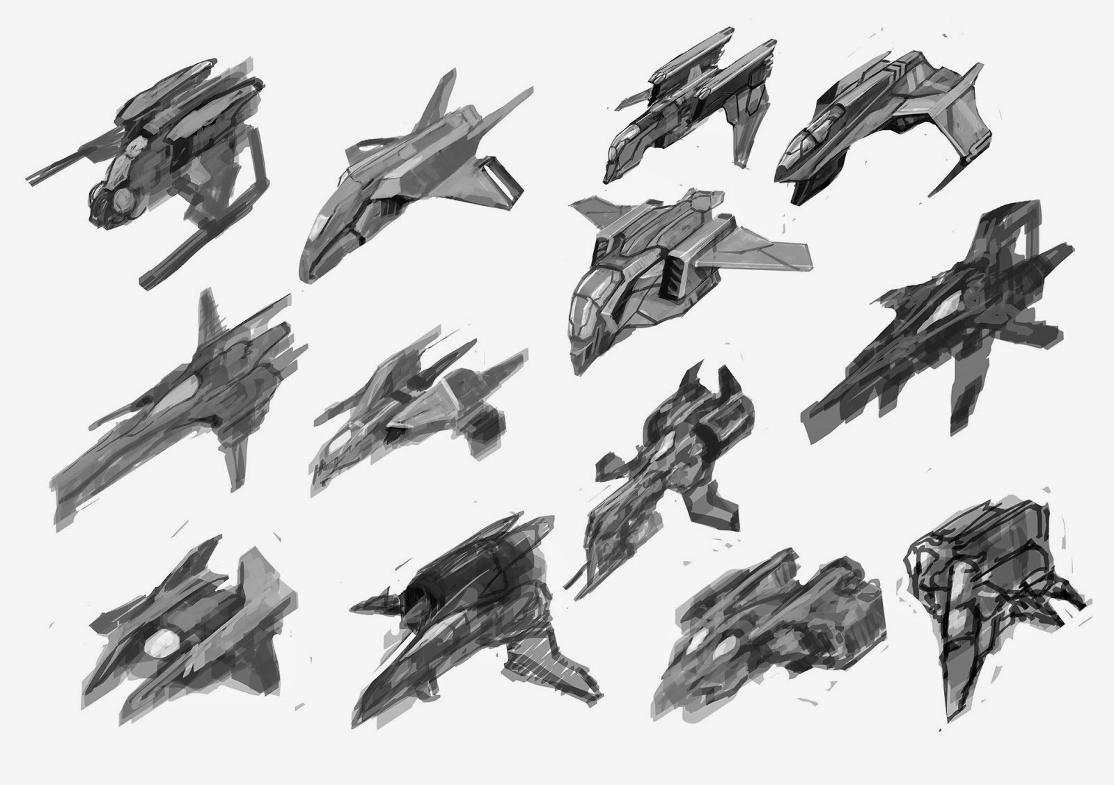 Wip Blog Sci Fi Vehicle Prop Concepts