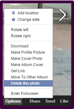 How To Delete Photos On Facebook