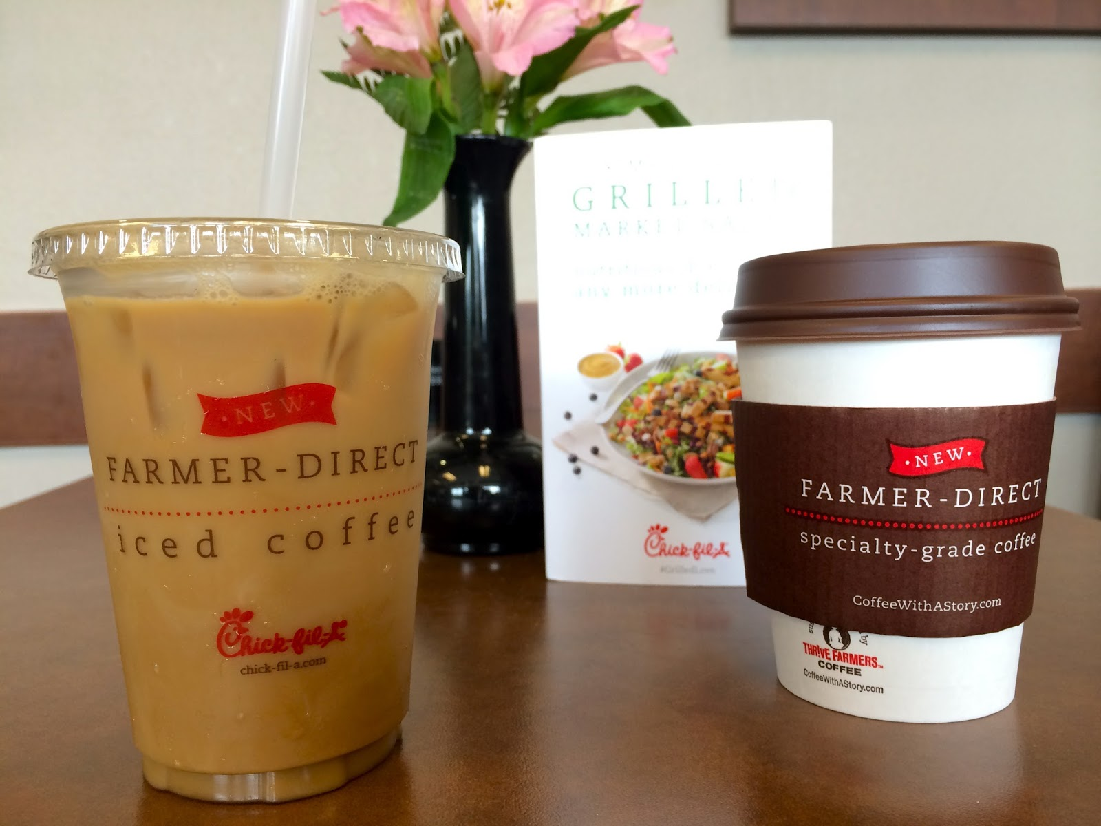 Chick-fil-A Hot and Iced Coffees are farmer direct and really tasty!