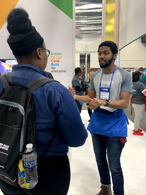 Google Student Blog: Live from #NSBE45 — how to get the most