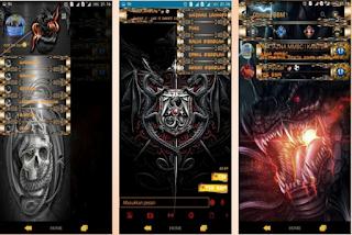 BBM Mod Dragon Theme v2.12.0.11 Apk Gratis Terbaru