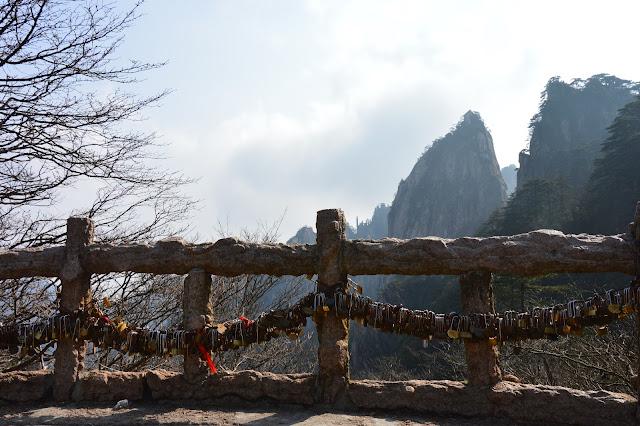 Les montagnes jaunes à Huangshan