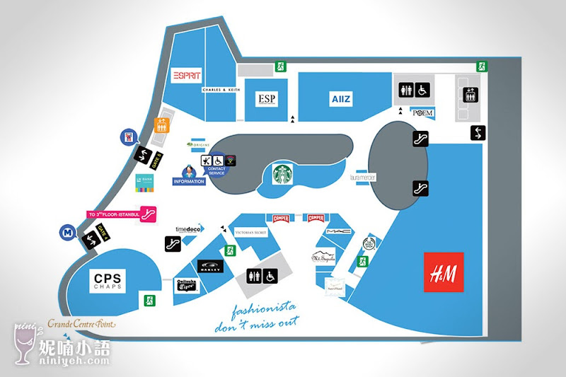 【曼谷購物景點】Terminal 21。超吸睛航站主題式百貨