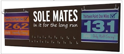 sole mates soul running medals race bibs display hanger holder rack