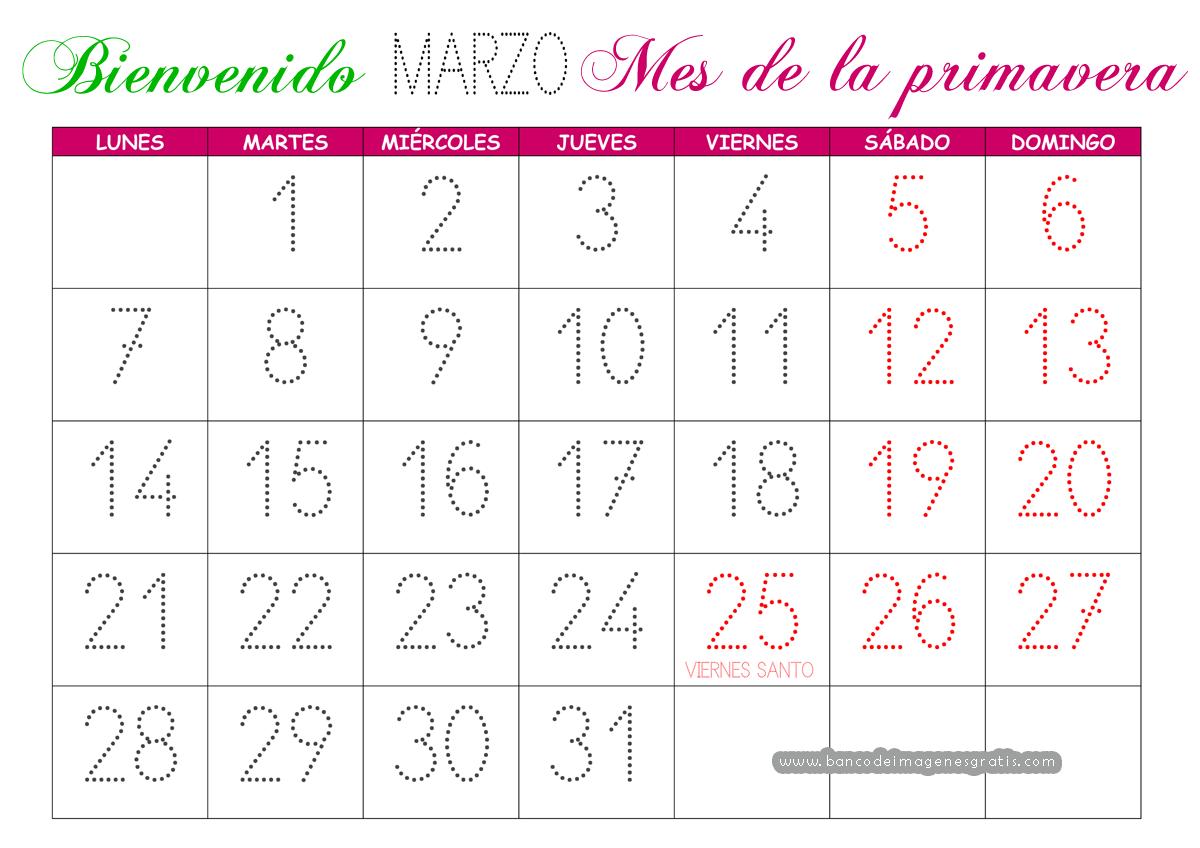 ¿QUIEN QUIERES QUE SEA EL SEPTIMO EXPULSADO DE GHVIP? Calendario_marzo_2016