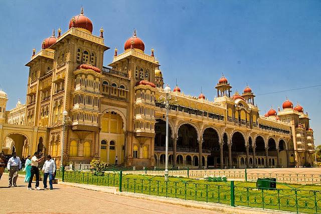 Golden Chariot Mysore