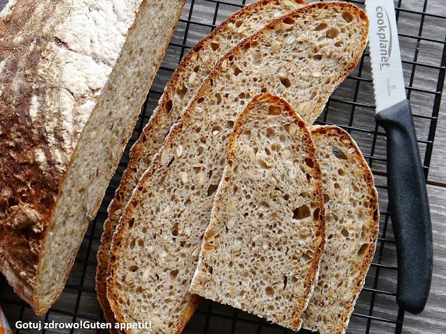 Chleb słonecznikowy na żytnim zakwasie wg Hamelmana - Czytaj więcej »