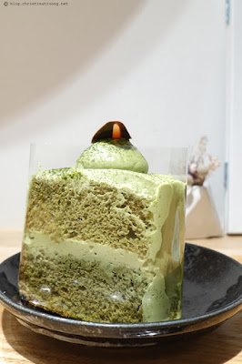 Christina Truong Food From the Lens Photography Toronto Evening Dessert Adventures Little Pebbles Matcha Chiffon Cake