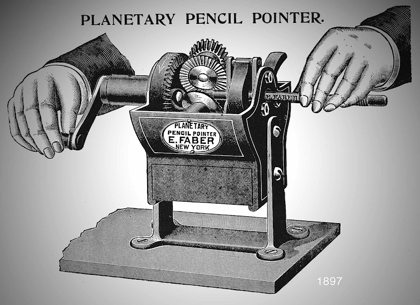 The Planetary Pencil Pointer