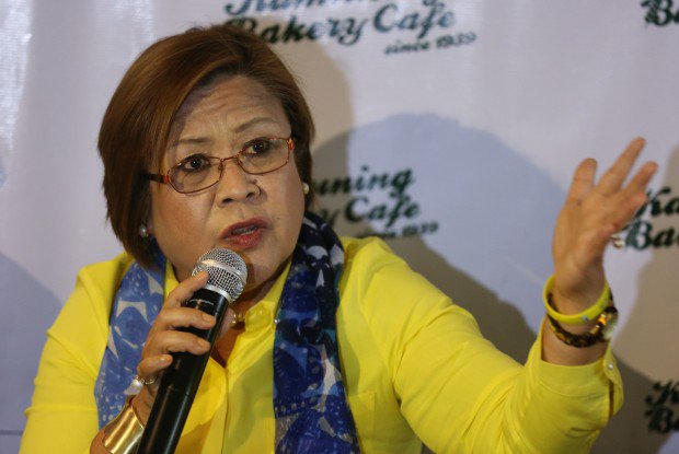 "DE LIMA ON HER ABSENSE IN SENATE ORIENTATION : ""DONE THAT ALREADY"""