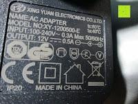 Sicherheit: CRECO 7W LED Tischlampe 5 Helligkeitsstufen 3 Modi dimmbar 270° drehbar Schreibtischlampe Schwarz [Energieklasse A+]