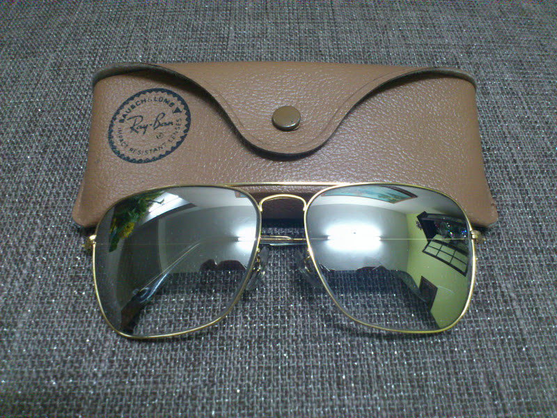 026ab4f002d6 Vintage Bausch & Lomb Rayban Sunglasses: (SOLD)NOS Ray Ban Caravan ...