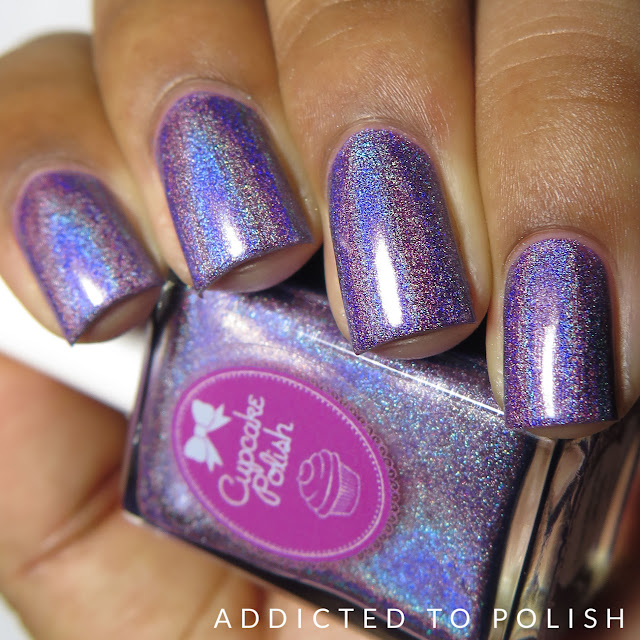 Cupcake Polish Transformation Butterfly collection