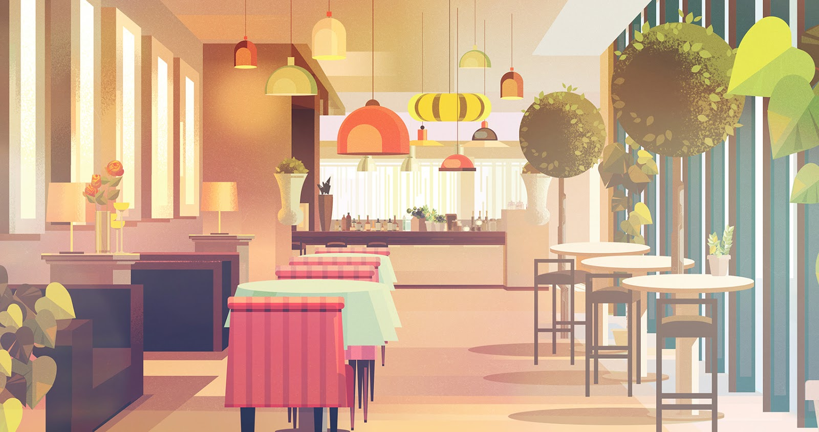 James Gilleard Animation Backgrounds