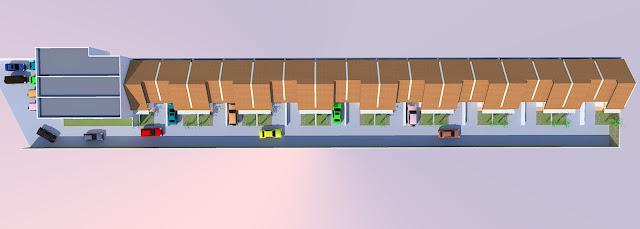 ruko dan rumah minimalis