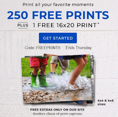 Confessions Of A Frugal Mind Shutterfly Get 250 Free Prints And