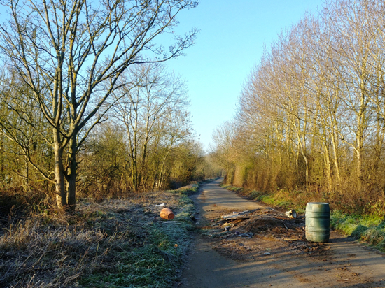 Fly-tipping along Bradmore Lane  Image © North Mymms News released under Creative Commons BY-NC-SA 4.0