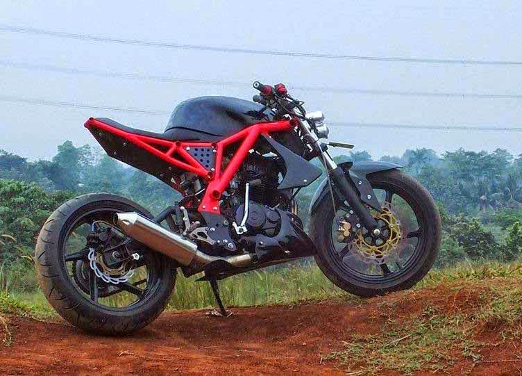 Dunia Modifikasi Kumpulan Foto Modifikasi Motor Honda