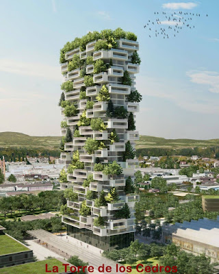 La Torre de los Cedros el primer bosque vertical del mundo