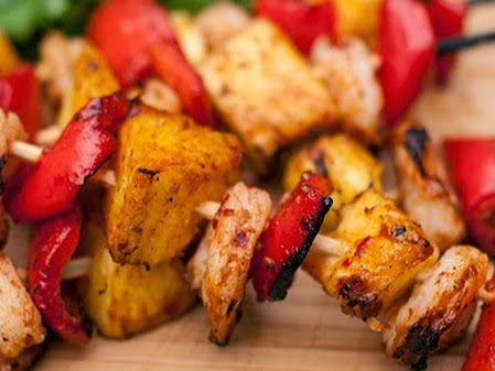 Stubb's Spice Shrimp Kabobs {Recipe}