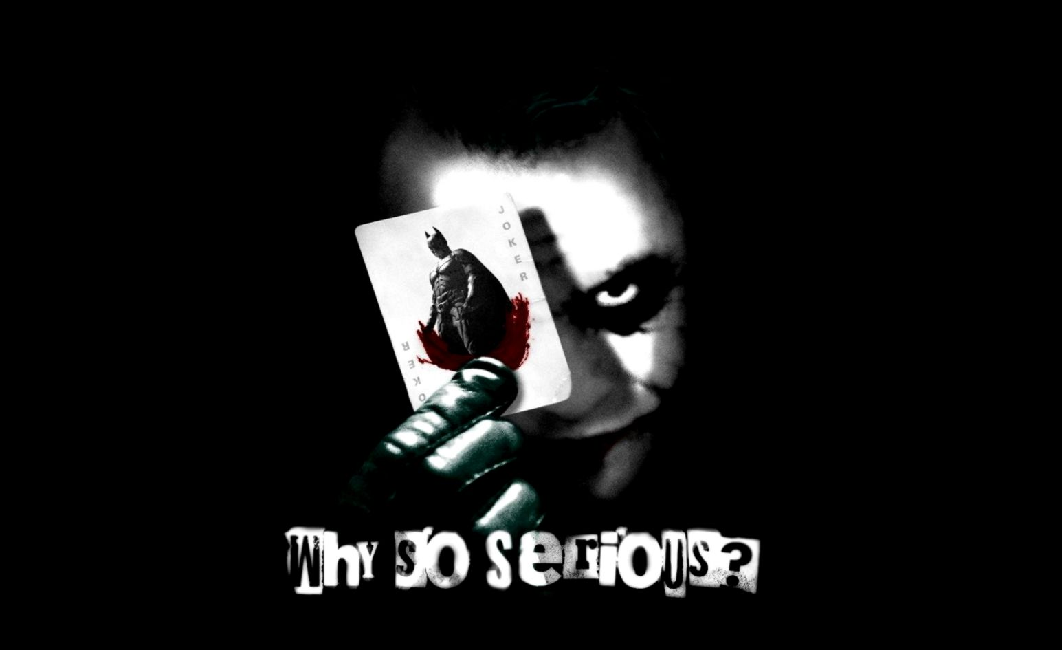 Why so serious joker wallpaper and background image 1680x1050