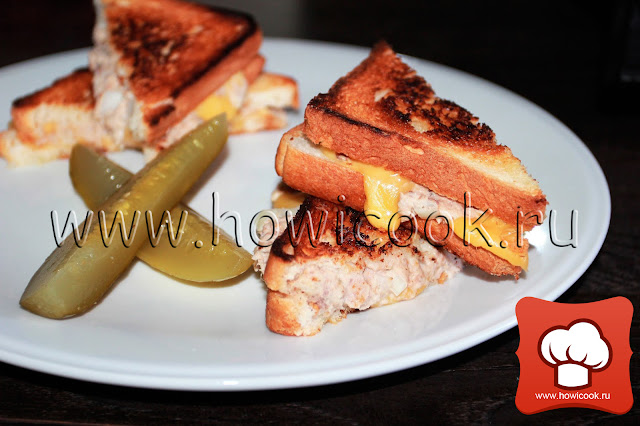 рецепт сэндвича с тунцом