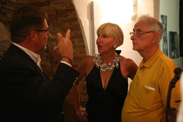 Rita Castigli con Nicola Priori e Pippo Cosenza