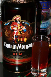 shot capitan morgan