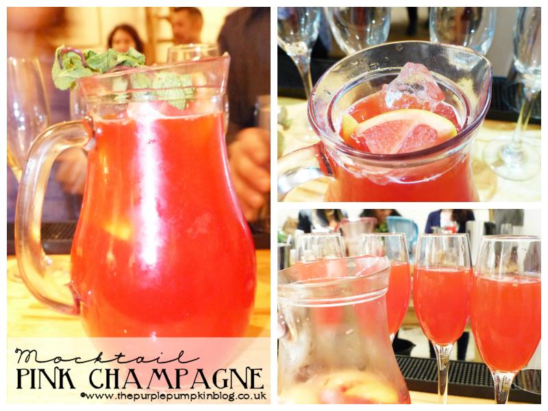 Pink Champagne -Mixology Mocktail Masterclass [BRITA Boost Challenge]