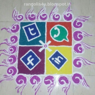 Whatsapp rangoli designs